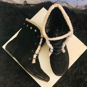 Slipper Style Boots